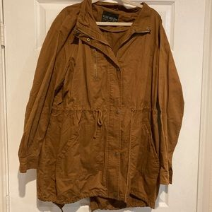 Forever 21 - Deep Tan Anorak Jacket 3X - Comfy